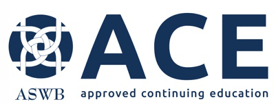 ACE Approved Continuing Education ASWB logo