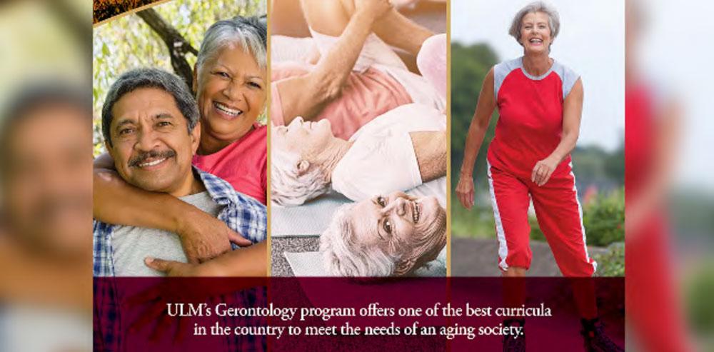 ULM gerontology banner